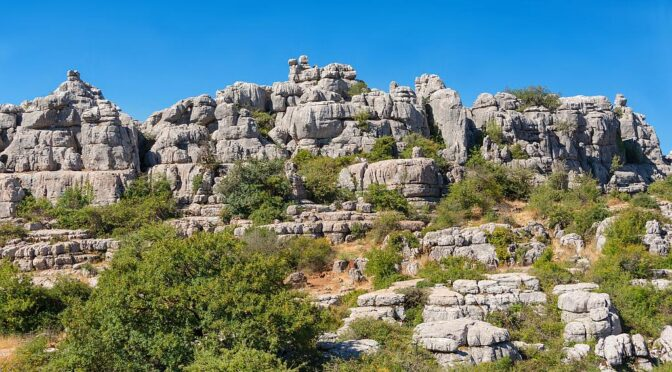 El Torcal protected area