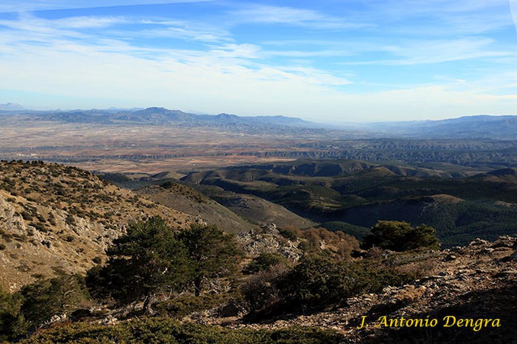 The depression known as la Hoya de Baza and the Sierra de Las Estancias