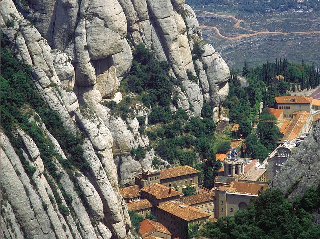 Benedictine abbey Santa Maria de Montserrat