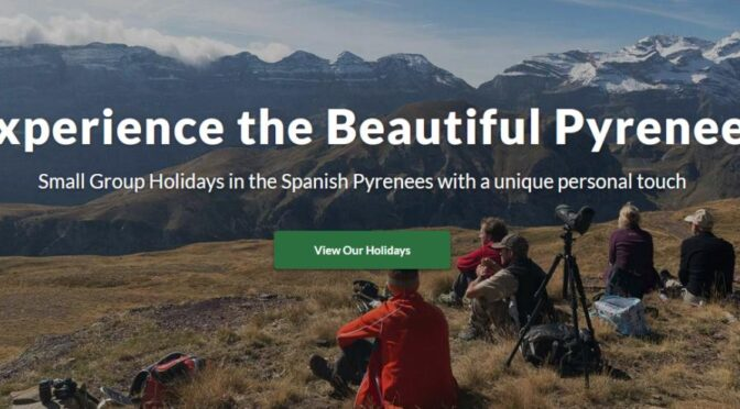 Aragón Active Holidays provide small group special interest & activity holidays with local, qualified mountain and wildlife guides