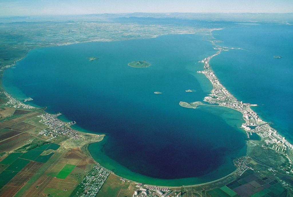 Protected landscapes (Paisajes protegidos) - Espacios abiertos e islas del Mar Menor