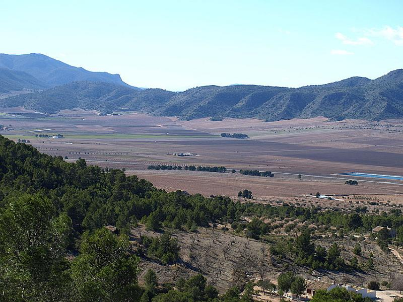 Natural Spaces in Murcia - Sierra de Salinas