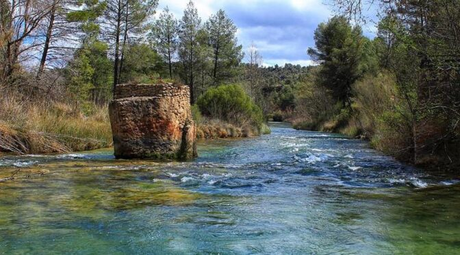 The largest protected area in the Valencian Community, the Hoces del Cabriel Natural Park (in Valencian Parc Natural de les Gorges del Cabriol)