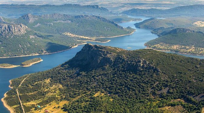 La Siberia biosphere reserve (Los Montes) is located to the northeast of the province of Badajoz