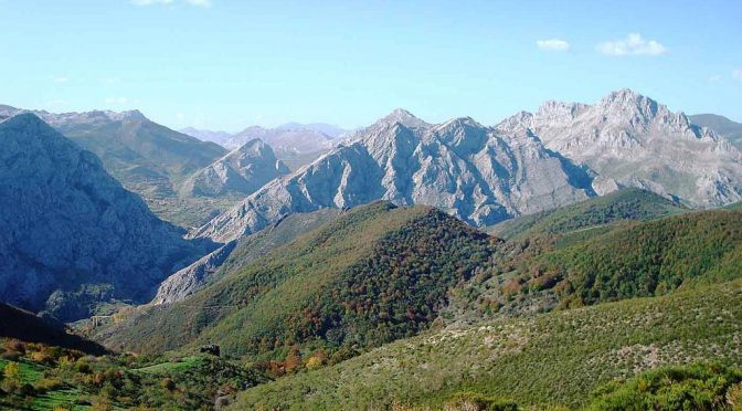 """The spectacular scenery of Los Argüellos biosphere reserve is located north of the city of León and may one day be a part of the proposed """"Great Cantabrian Biosphere Reserve"""""""