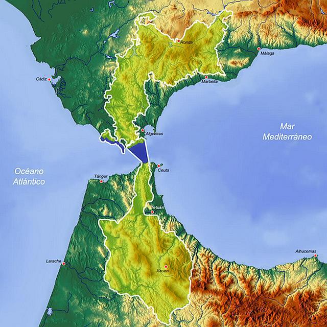 Intercontinental del Mediterraneo biosphere reserve